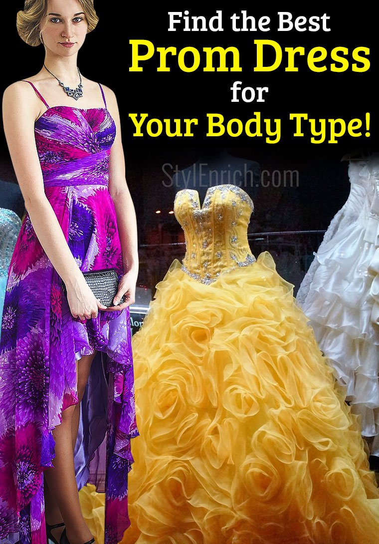 how to find the best prom dress for your body type? prom dress guide