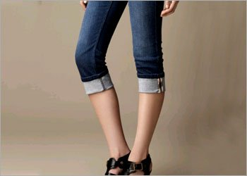 Capri Jeans for Girls