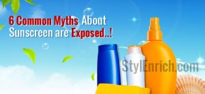 Common Myths About Sunscreen