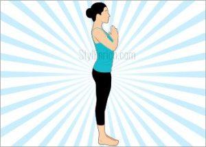 Step 12 - Tadasana Yoga