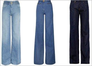 Wide Leg Jeans for Girls