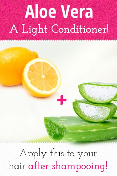 How to Make Homemade Aloe Vera Light Conditioner?
