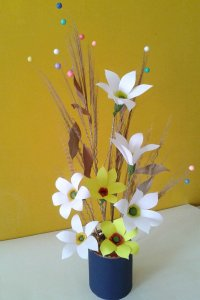 best-out-of-waste-paper-flower