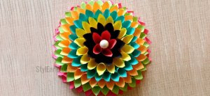 Wall Decoration Ideas to Make Paper Floral Craft for Your Walls !