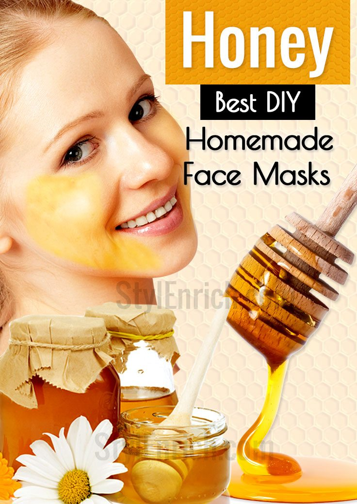 DIY Honey Face Masks