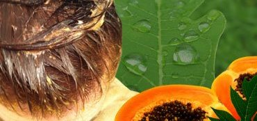 Homemade Hair Mask with Papaya