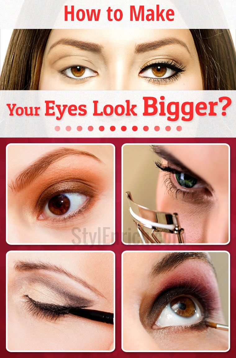 How To Make Your Eyes Look Bigger Than They Actually Are