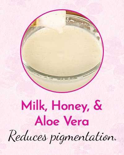 Milk, Honey, and Aloe Vera Mask for Dry Skin