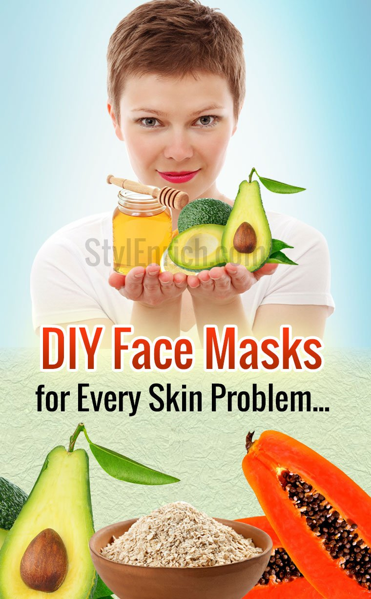 Homemade DIY Face Masks
