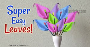Colorful Leaves Easy DIY Crafts