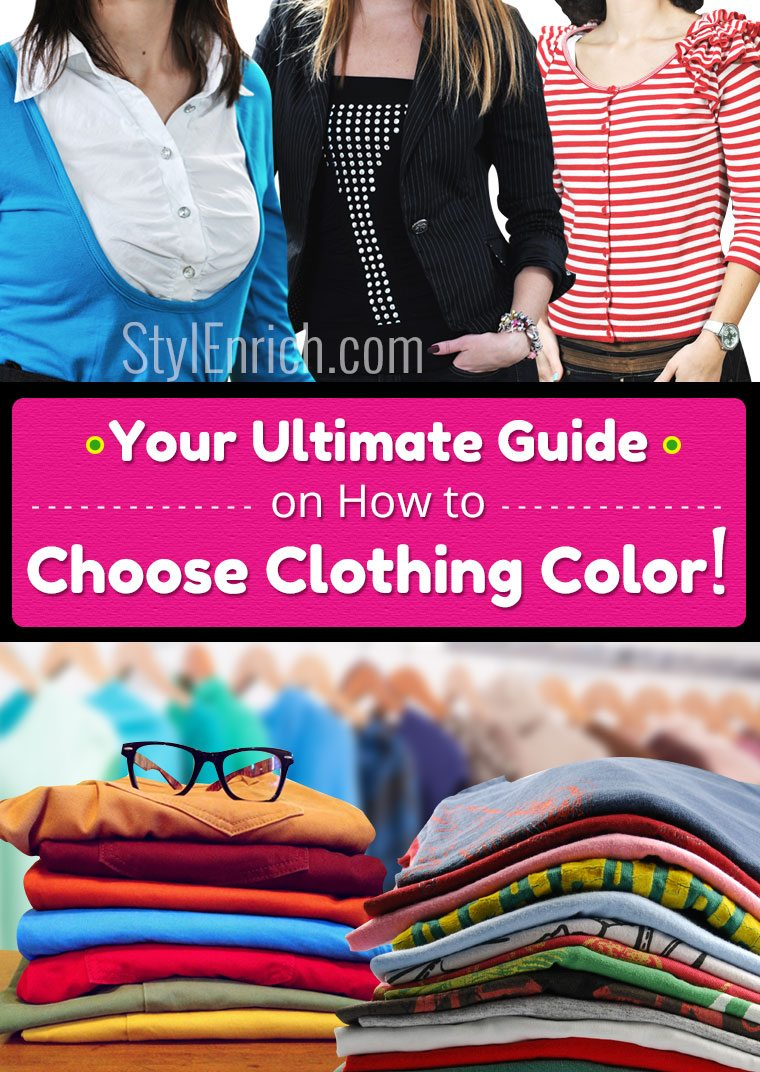 How to choose clothing color