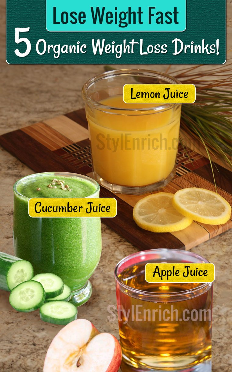 Lose Weight Fast With 5 Safe & Healthy Weight Loss Drinks!