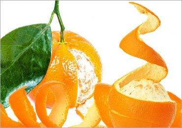 Homemade Face Masks Made Using Orange Peel
