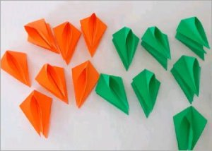 Origami-flower-craft