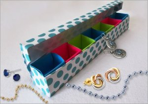 DIY Origami Jewellery Box