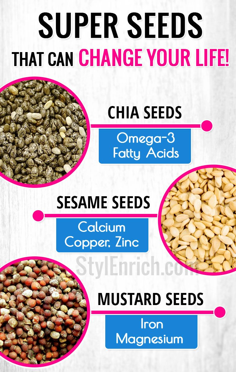 Seeds health benefits