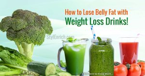 How To Reduce Belly Fat With Weight Loss Drinks!