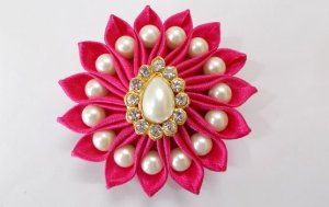 Satin Ribbon Flower Sewing Projects