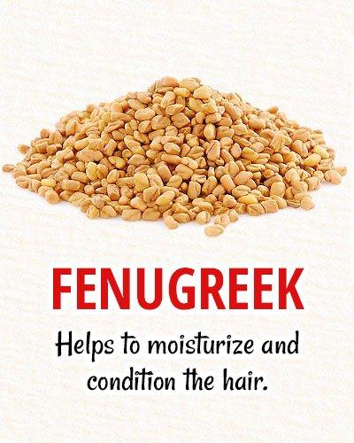 Fenugreek For Natural Hair Restoration