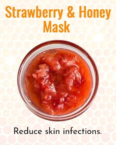 Strawberries and Honey Face Mask