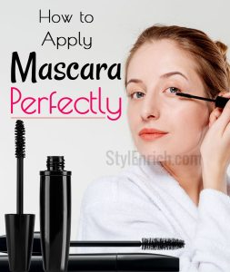 How to Apply Mascara Perfectly