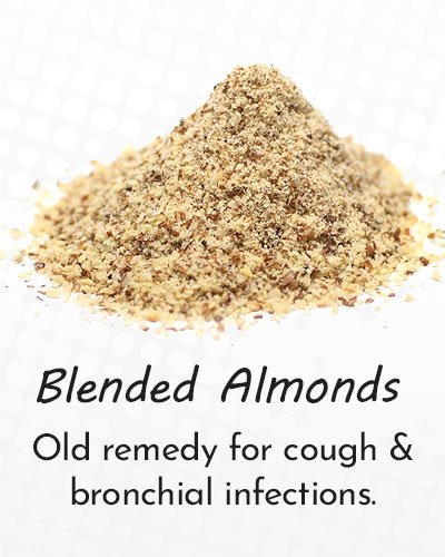 Blended Almonds for Cough Treatment