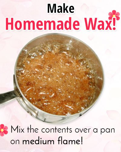 DIY Homemade Wax