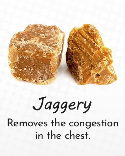Jaggery for Cough Treatment