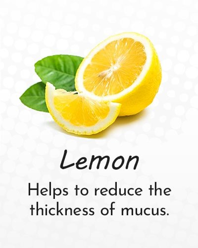 Lemon for Cough Treatment