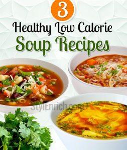 Low calorie soup recipes!