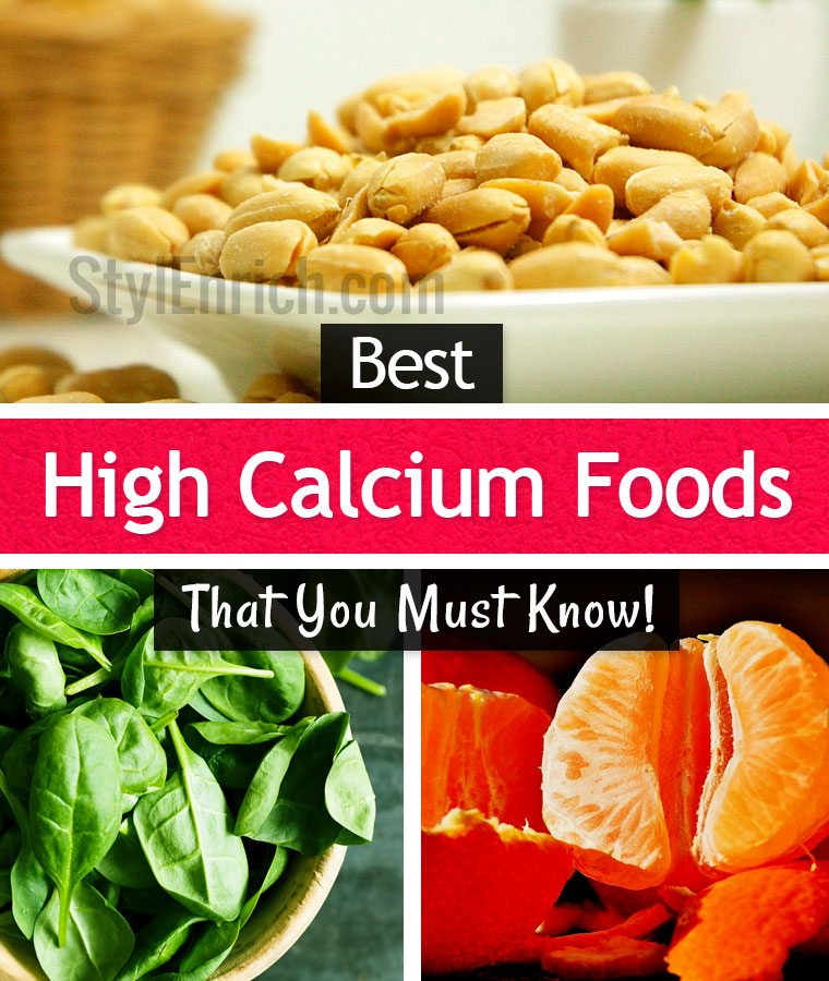 High Calcium Foods : 10 Important Foods to Maintain Our Health