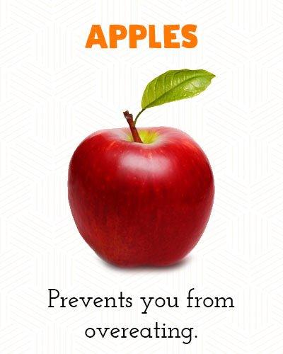 Appels om buikvet te verliezen