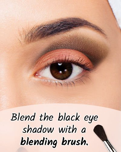 Black Shadow For Black Eyes