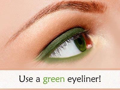 Green Eyeliner For Green Eyes