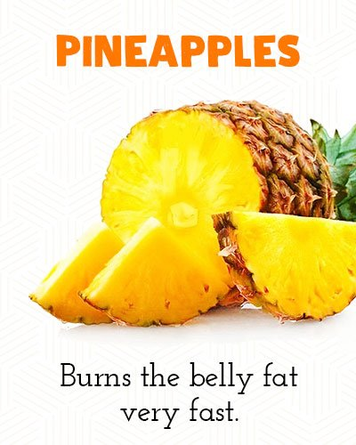 Pineapples to Lose Belly Fat