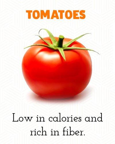 Tomaten om buikvet te verliezen