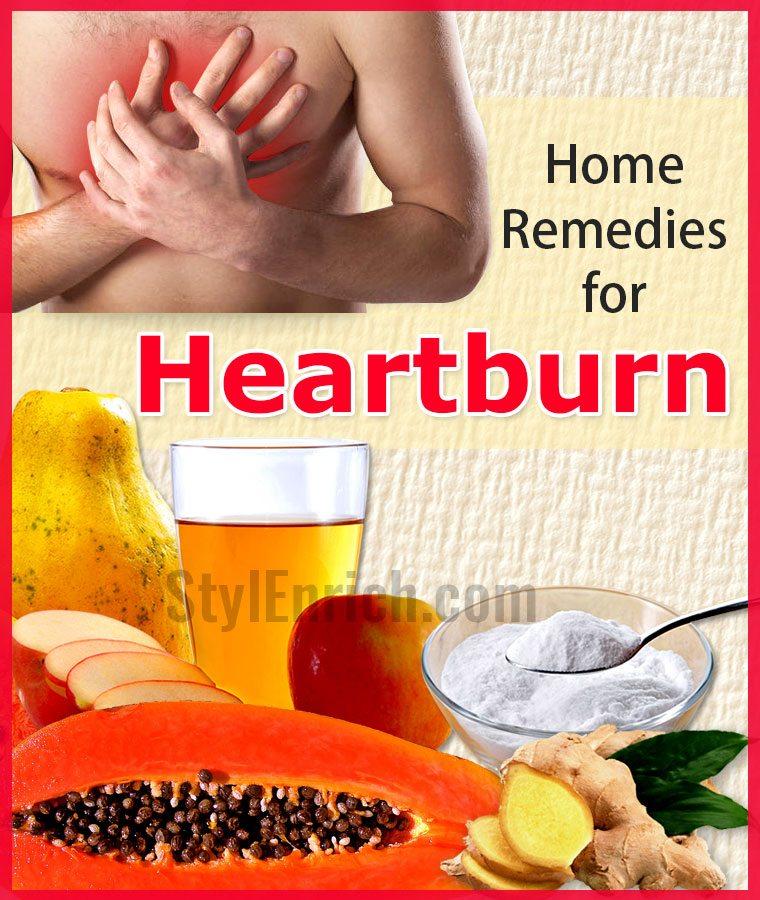 Heartburn Home Remedy Vinegar