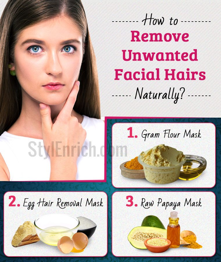How To Remove Hairs From Body Naturally At Home