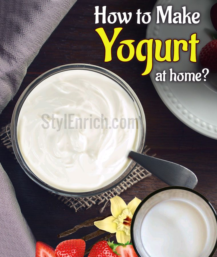 how to make your own yogurt starter