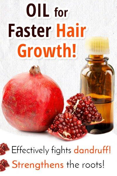 Pomegranate Oil for Hair Growth