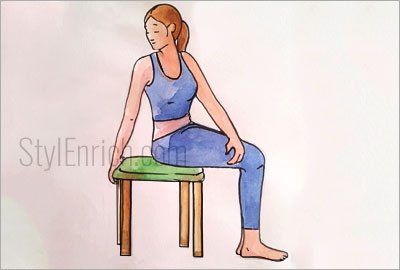 Seated-spinal-twist-stretch
