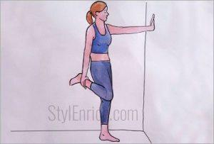 Standing-quad-stretch