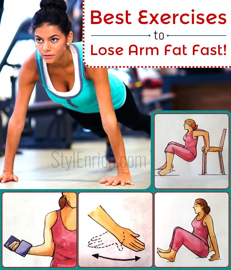 Do You Know Best Exercises To Lose Arm Fat Fast Stylenrich