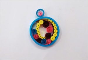 Earrings-diy-quilling