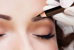 Outline the rest of your brow