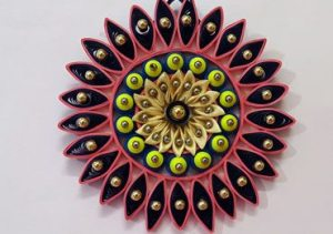Quilling-wall-hanging