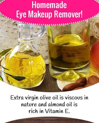 Almond Oil Eye Makeup Remover