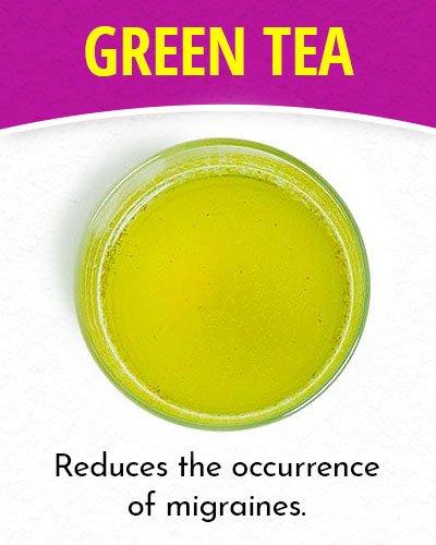 Green Tea for Migraines