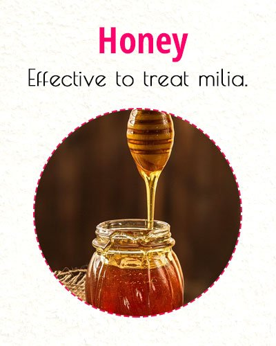 Honey To Treat Milia On Face