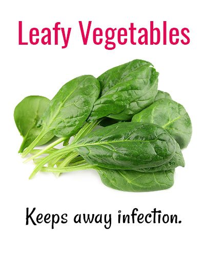 Leafy Vegetables for Shaky Teeth